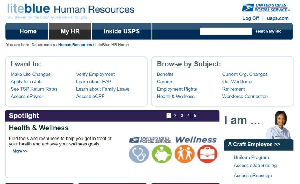 LiteBlue USPS Login For Employees